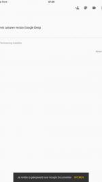 Google Keep deelfuncties