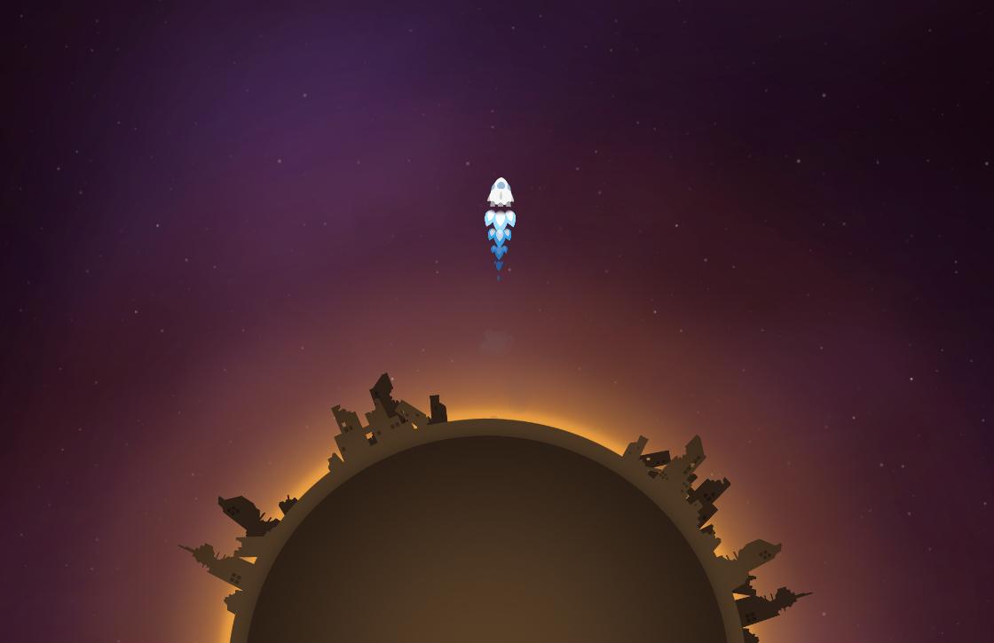 Asteroids voor gevorderden met het mooie Last Horizon
