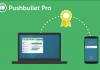 Extra functies Pushbullet alleen beschikbaar voor Pro-leden