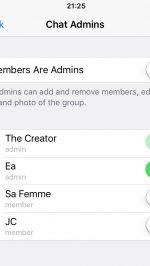 telegram supergroepen