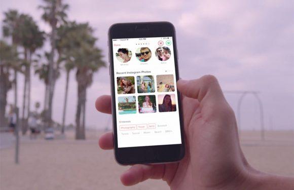 Tinder laat je gifjes sturen en gemakkelijker foto's uploaden