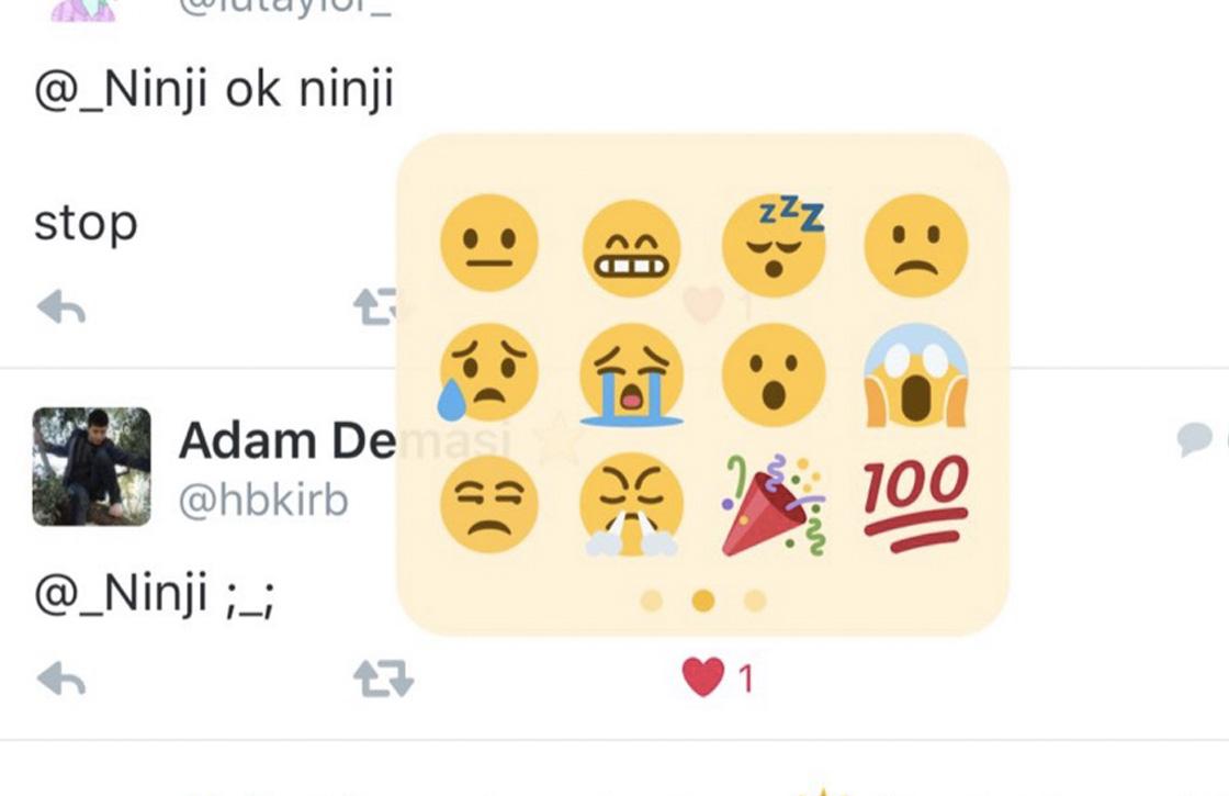 Twitter denkt aan reageren met emoji via 'vind ik leuk'-knop