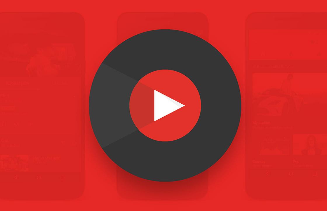 Dit is de nieuwe Music-app van YouTube