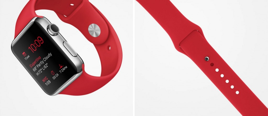 apple red watch