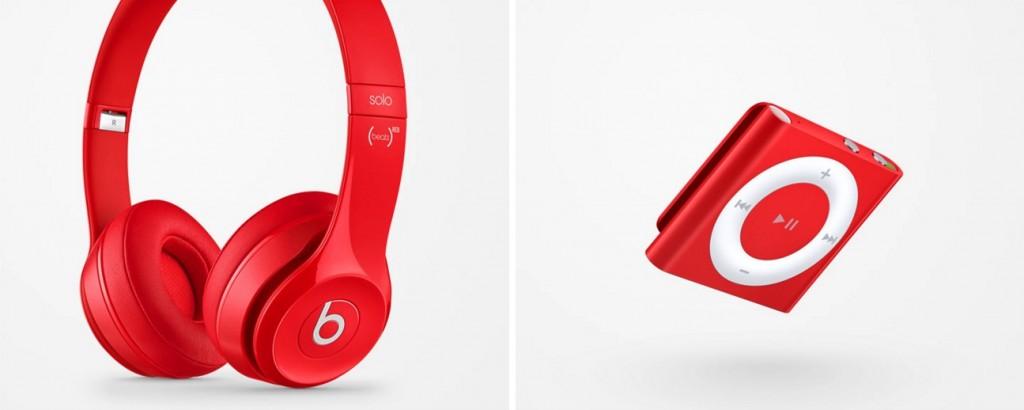 apple red muziek