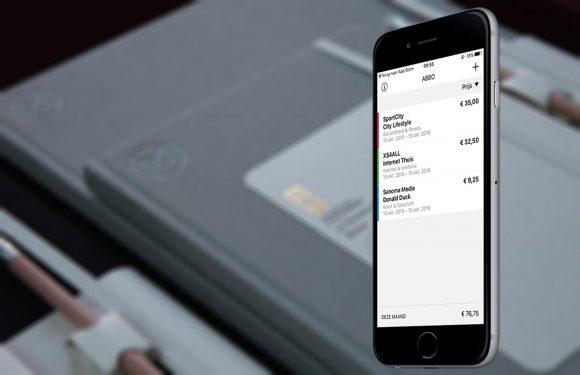 Beheer gemakkelijk al je abonnementen met de ABBO-app