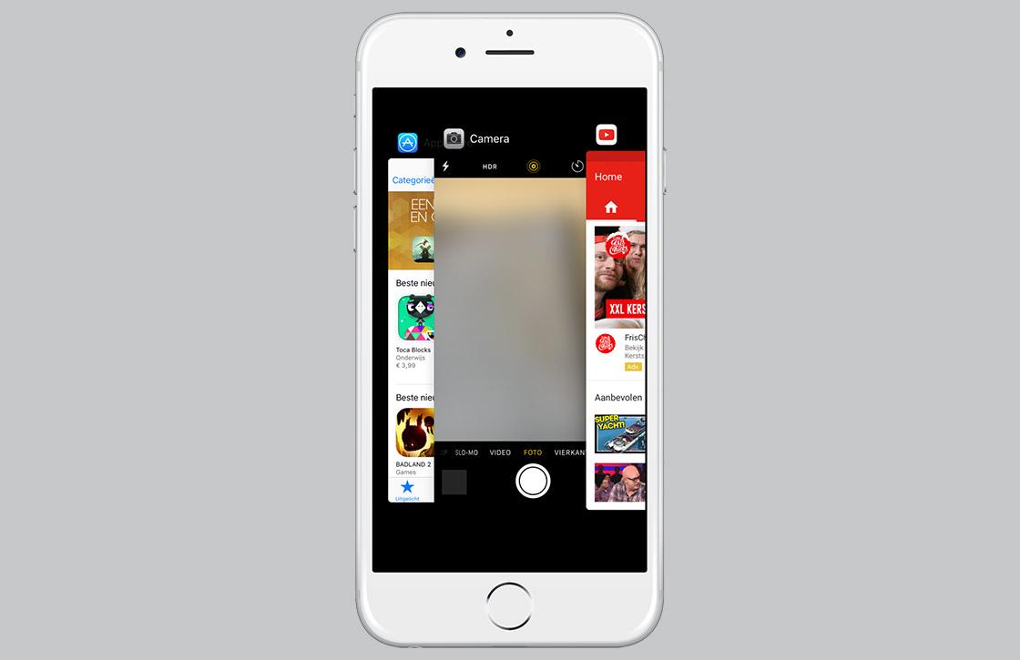 Zo geeft iOS 9.2 je meer controle over de appkiezer