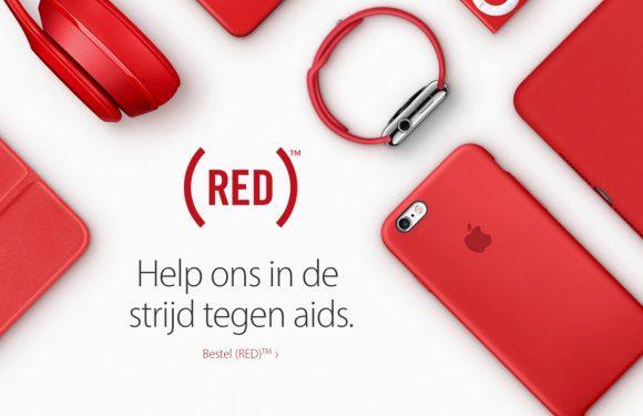 Deze producten en apps kleuren rood voor Wereld Aids Dag