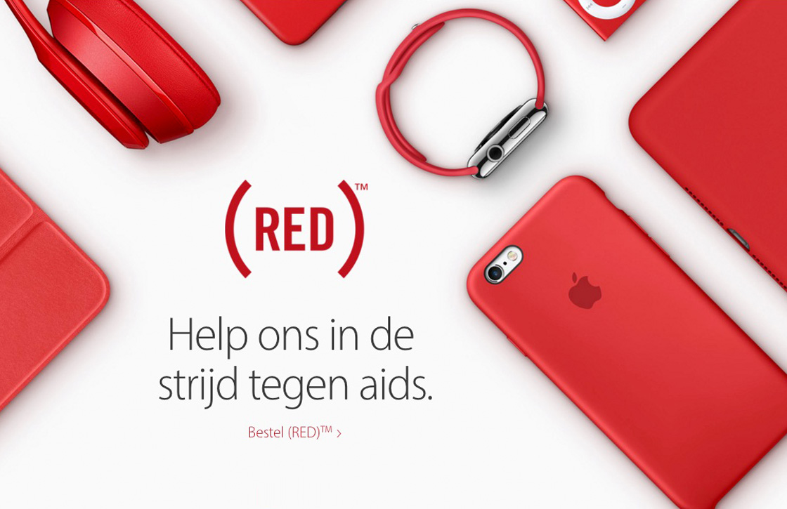 Apple RED 2016 campagne