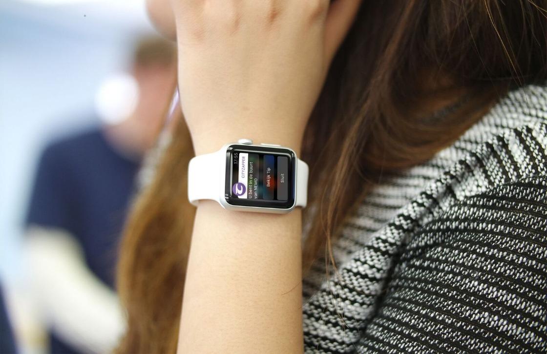 Handen vol? Bedien je Apple Watch met je neus