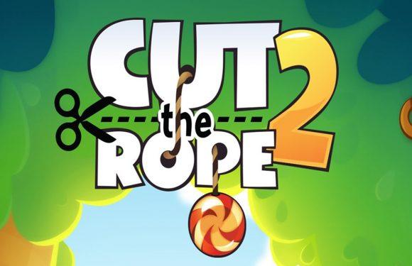 Puzzelgame Cut the Rope 2 is gratis App van de Week
