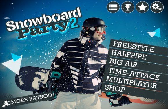Snowboard Party 2: leuke opwarmer voor het wintersportseizoen