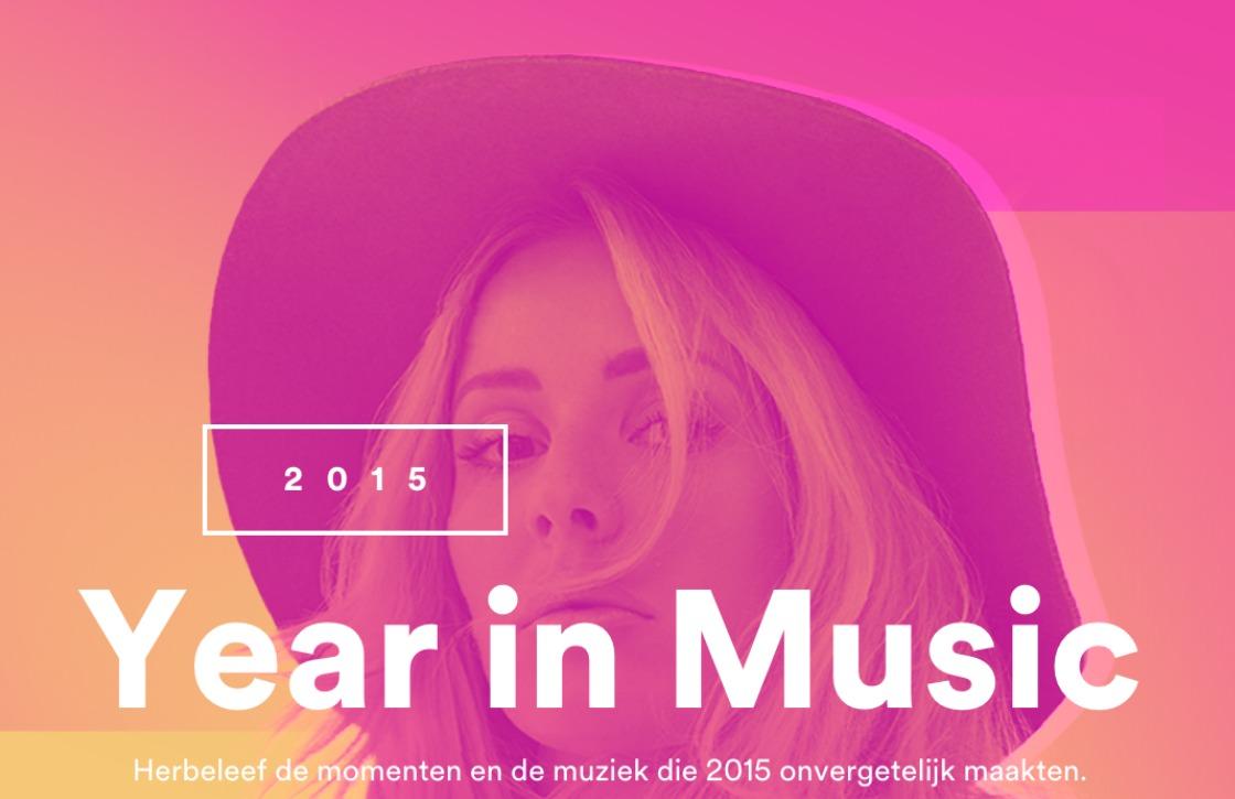 Check je favoriete nummers van 2015 met Spotify Year in Music