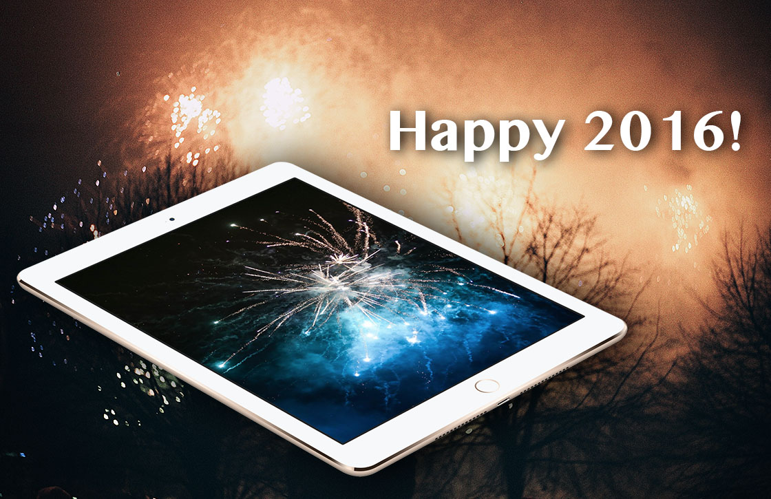 iPhoned wenst je een gelukkig 2016!