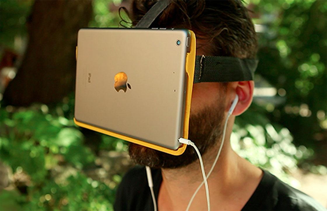 'Apple werkt in het geheim aan virtual reality-bril'