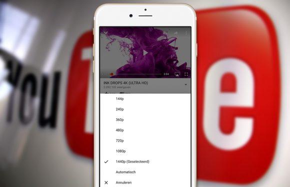 YouTube krijgt 1440p-modus op iPhone 6S Plus