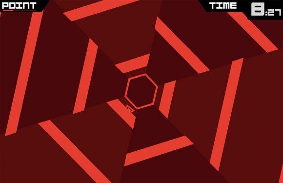 Retemoeilijke Super Hexagon is gratis App van de Week