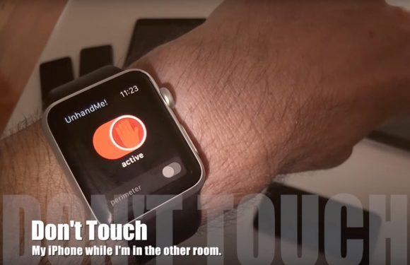 Deze Apple Watch-app waarschuwt je bij iPhone-dieven
