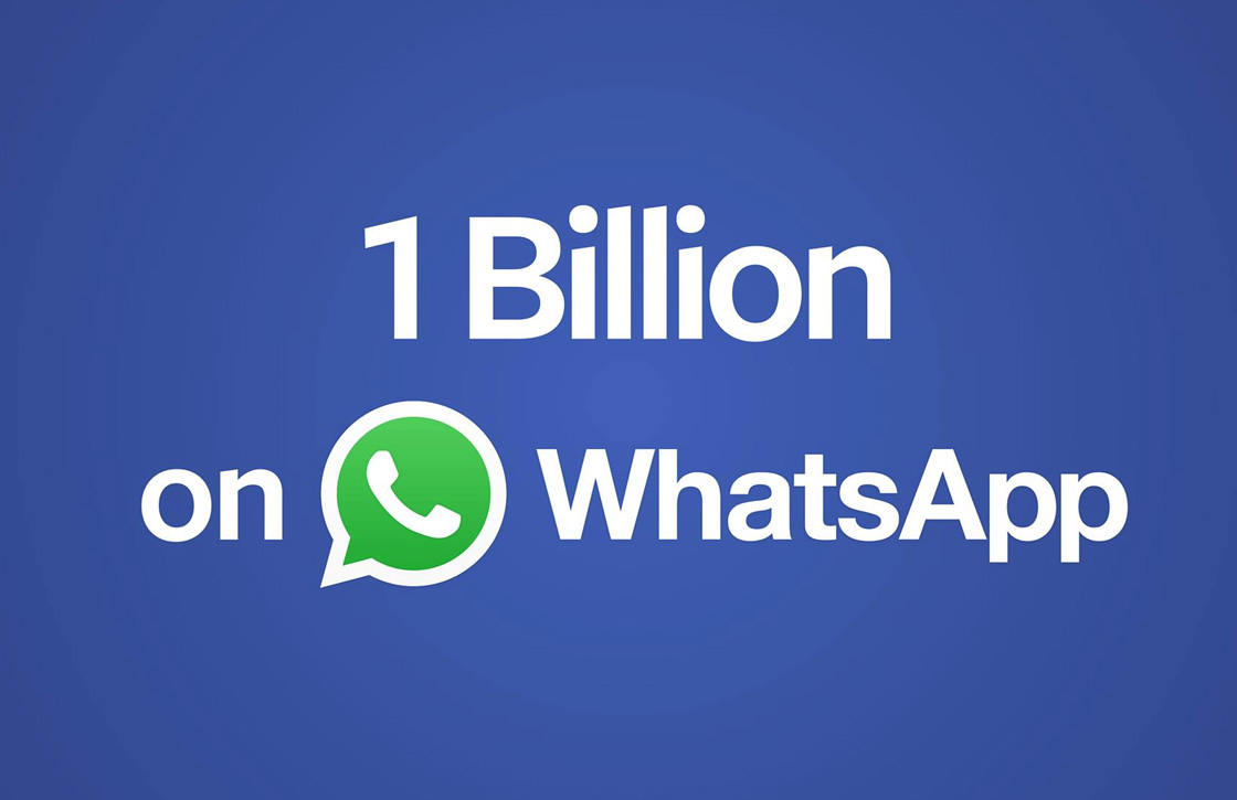 Een miljard WhatsApp-gebruikers: dit is de volgende stap