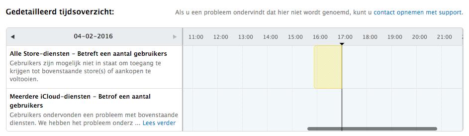 app store icloud probleem
