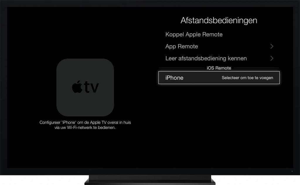apple tv remote-app