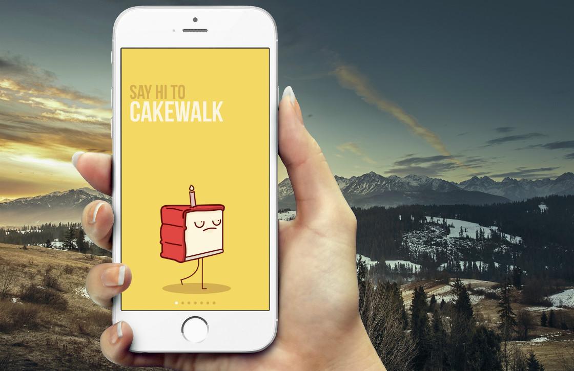 Cakewalk motiveert je tot bewegen met een sarcastische taart