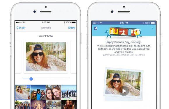 Facebook viert verjaardag met filmpjes van vrienden