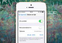 Dit is de oplossing van Apple voor de tijdsbug in iOS