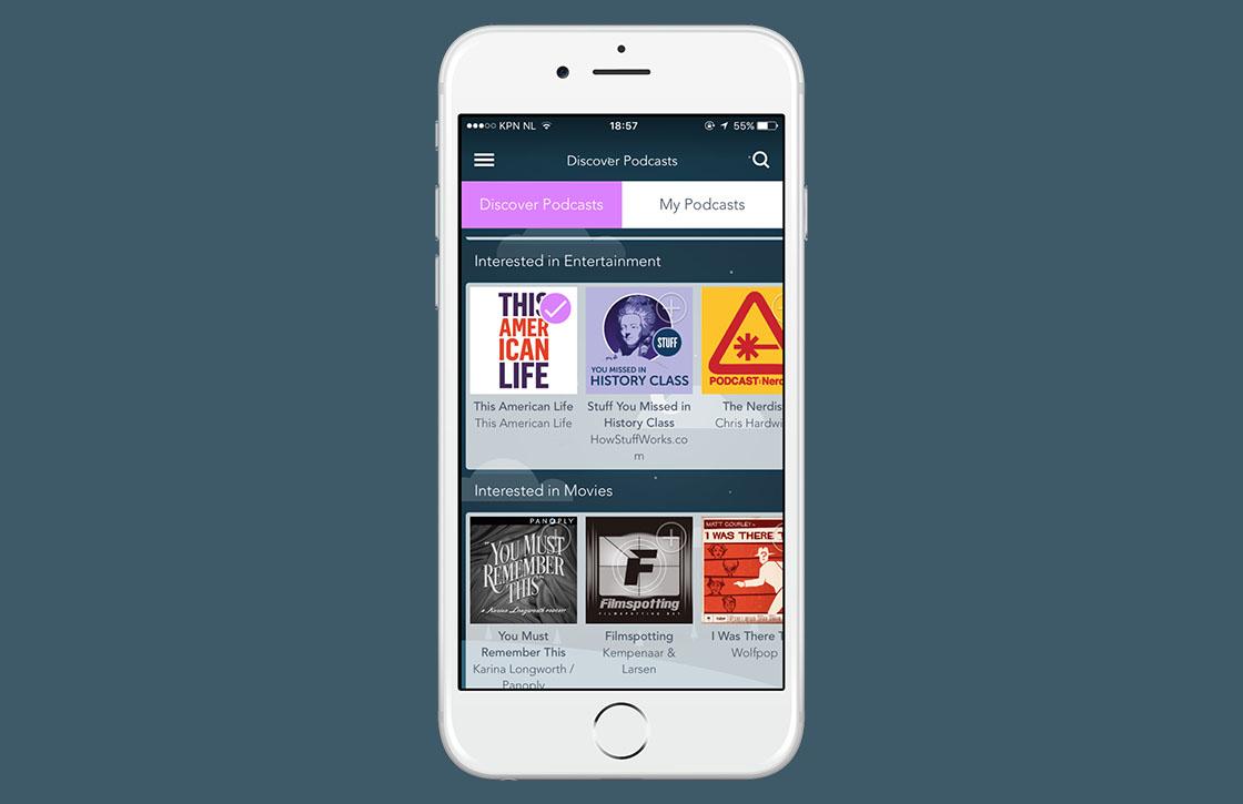 Ontdek podcasts en meer met Otto Radio voor iOS