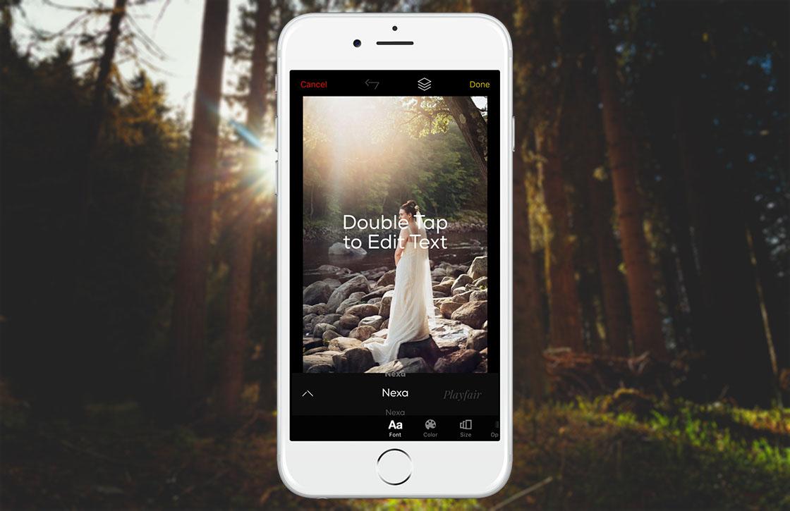 Over: foto-app met focus op tekst is gratis App van de Week