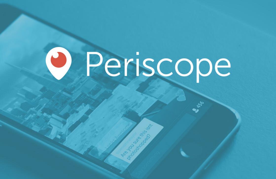 Periscope stabieler met de nieuwste update