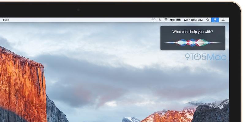 Siri voor Mac