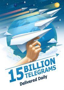 telegram-gebruikers