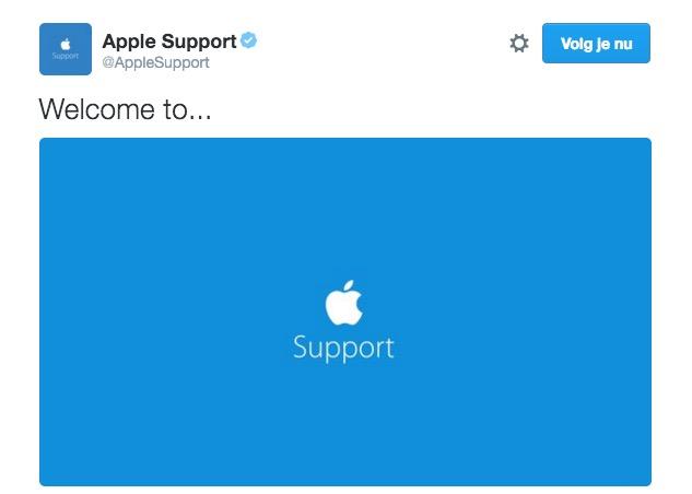 apple klantenservice
