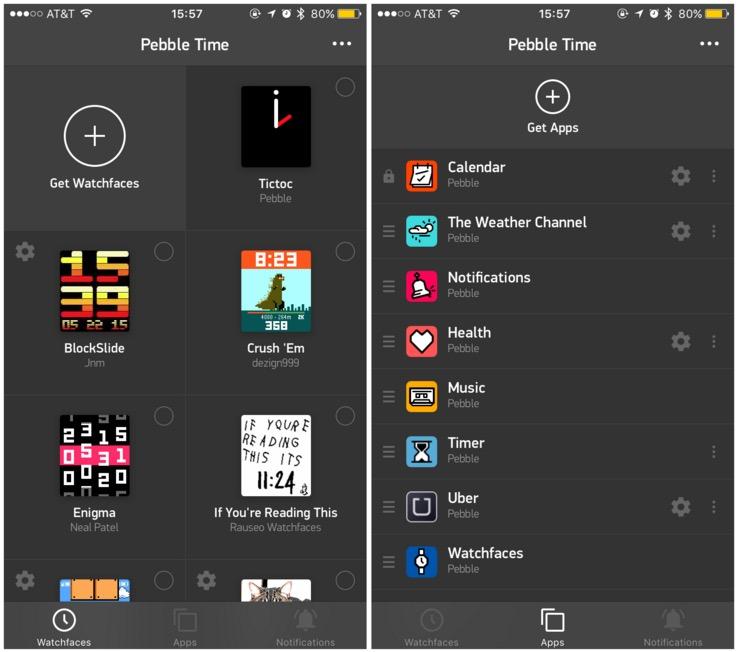 pebble app
