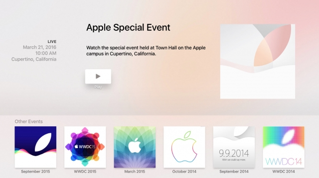 apple maart-event