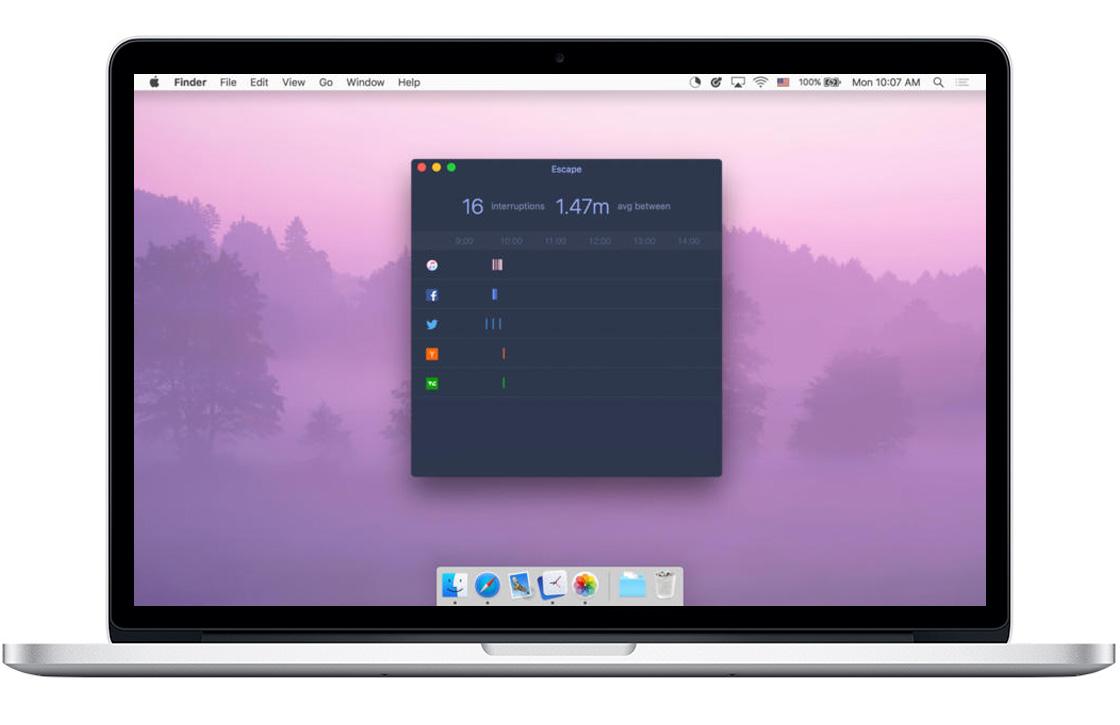 Deze 4 Mac-apps helpen je focussen op je werk