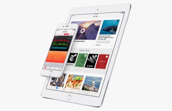 Apple brengt iOS 9.3.2 uit met oplossingen voor bugs