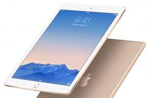 2017 iPads uitgesteld