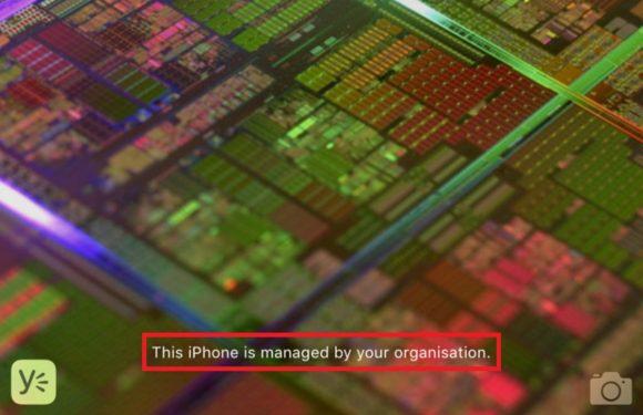 Zo toont iOS 9.3 of je iDevice wordt beheerd door je werkgever