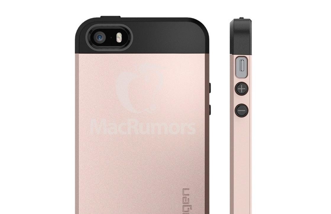 'iPhone SE wijkt qua ontwerp niet af van iPhone 5S'