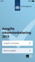 aangifte 2015