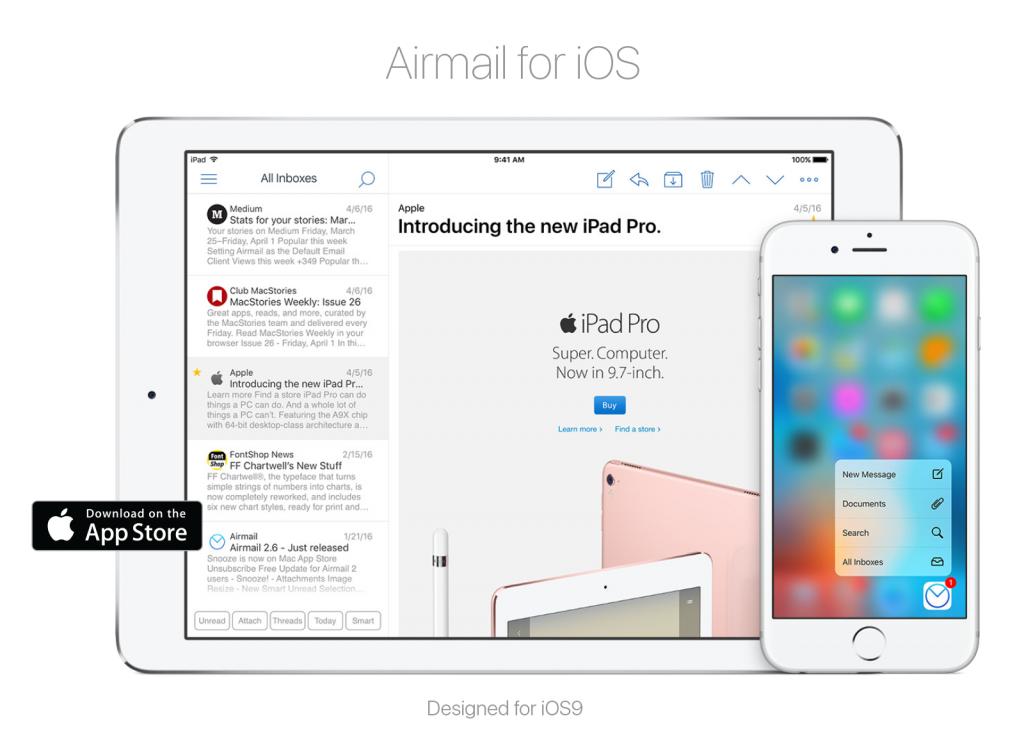 Airmail-iPad