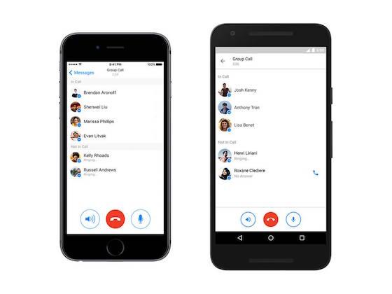 Facebook-Messenger-bellen