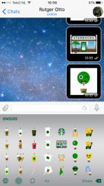Starbucks emoji toetsenbord