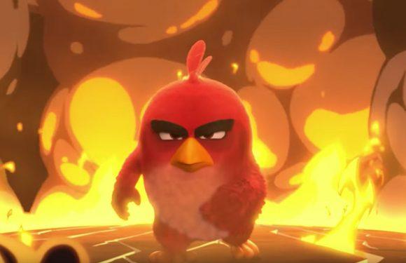 Nieuwe Angry Birds-game moedigt iPhonegebruik in bioscoop aan