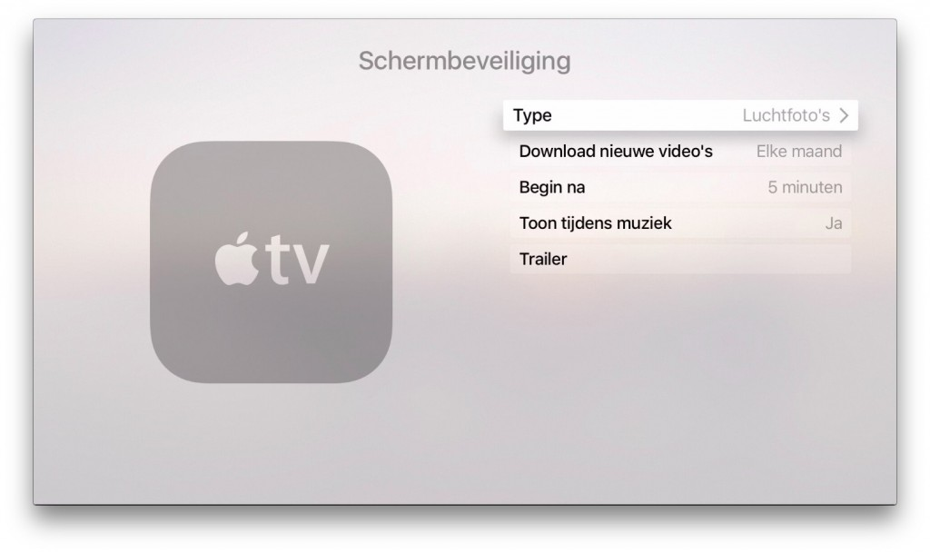 apple tv screensaver