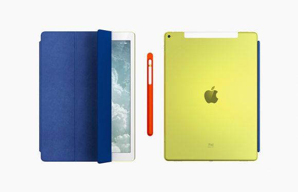 Deze gele iPad Pro maakte Jony Ive voor het goede doel