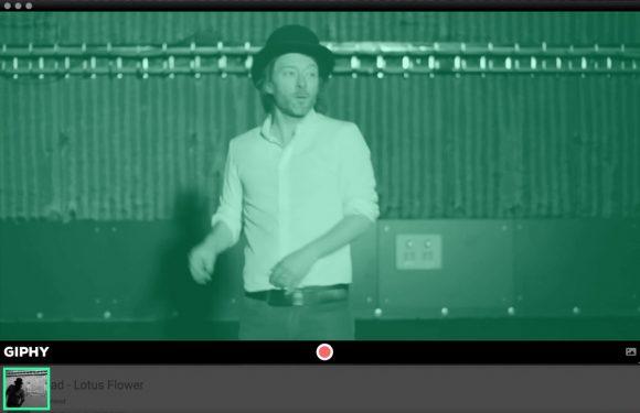 Nieuwe Mac-app van Giphy laat je heel gemakkelijk gifjes maken