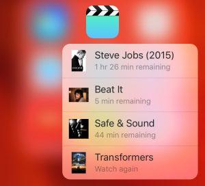 3D Touch Video's-app